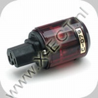 C - 079 - female 16 A- IEC  C 13  Gold
