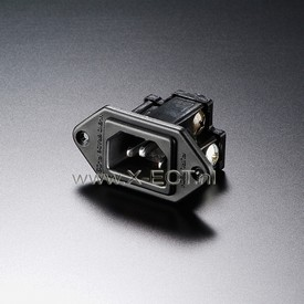 15A 250V AC INLET/ Nylon body FI-09(R)