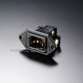 15A 250V AC INLET/ Nylon body FI-09(G)