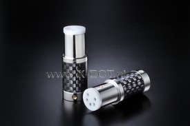 High End Performance Phono-DIN connector(Carbon fiber finish