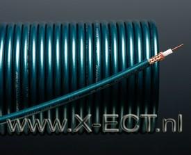 Coaxial digital & visual cable FC-63 (Green)