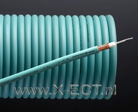 Coaxial cable (silver plated+Teflon) U-X Ag